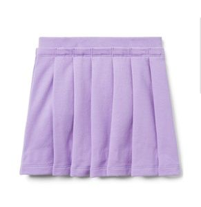 Janie and Jack Baby Girls Lavender Pleated Skirt